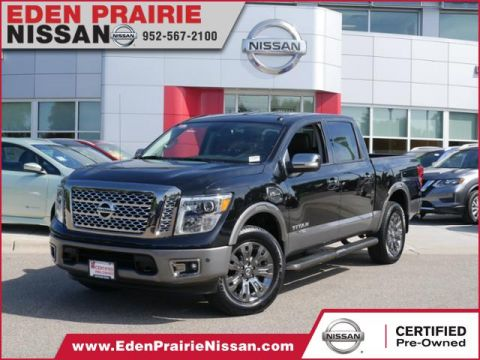 Certified Pre-Owned 2017 Nissan Titan Platinum Reserve 4WD