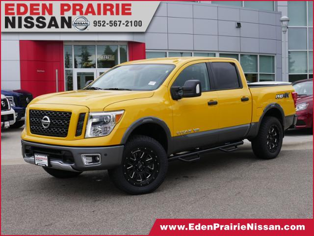 new 2018 nissan titan pro 4x for sale eden prairie mn bloomington minneapolis mn j1494. Black Bedroom Furniture Sets. Home Design Ideas