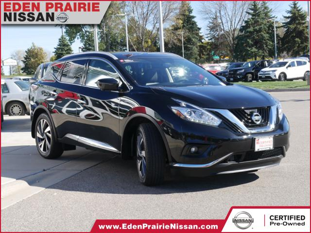 Certified Pre Owned 2017 Nissan Murano Platinum