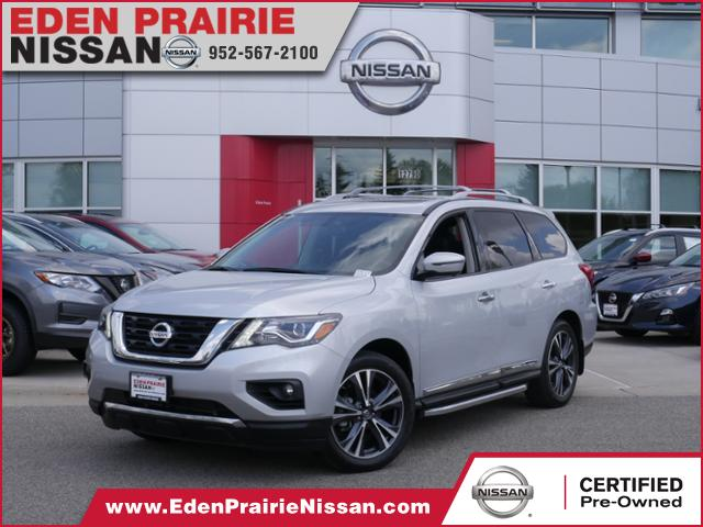 Certified Pre-Owned 2018 Nissan Pathfinder Platinum