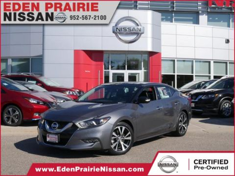 Certified Pre-Owned 2017 Nissan Maxima Platinum With Navigation
