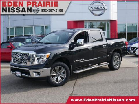 New 2019 Nissan Titan SL With Navigation & 4WD