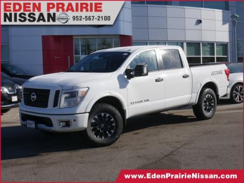 New 2019 Nissan Titan PRO-4X With Navigation & 4WD