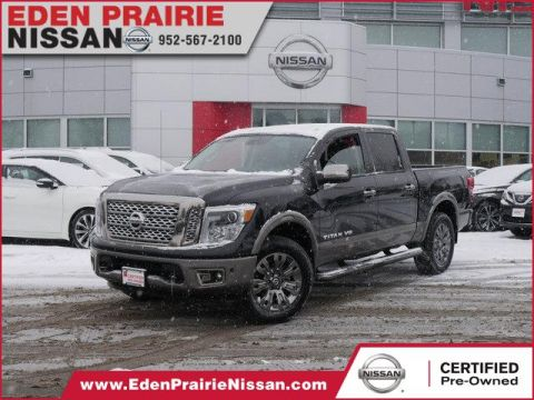 Certified Pre-Owned 2018 Nissan Titan Platinum Reserve With Navigation