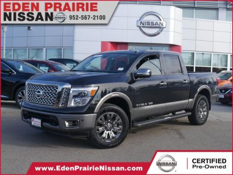 Certified Pre-Owned 2019 Nissan Titan Platinum Reserve With Navigation