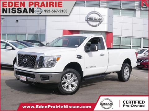 Certified Pre-Owned 2018 Nissan Titan XD SV Four Wheel Drive Regular Cab Picku