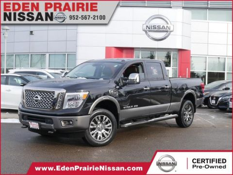 Certified Pre-Owned 2017 Nissan Titan XD Platinum Reserve With Navigation