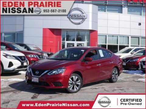Certified Pre-Owned 2019 Nissan Sentra SV Front Wheel Drive Sedan