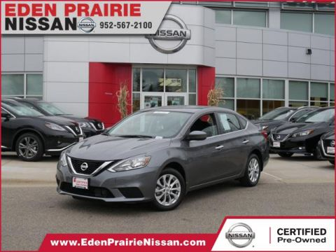 Certified Pre-Owned 2019 Nissan Sentra S FWD Sedan
