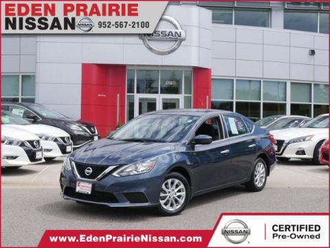 Certified Pre-Owned 2017 Nissan Sentra SV FWD 4dr Car