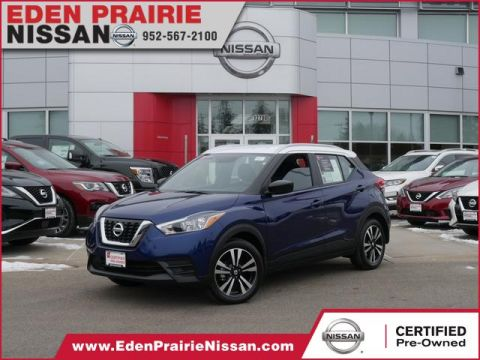 Certified Pre-Owned 2019 Nissan Kicks SV Front Wheel Drive SUV
