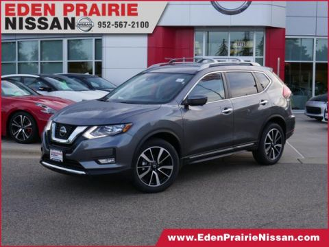 New 2019 Nissan Rogue SL With Navigation & AWD