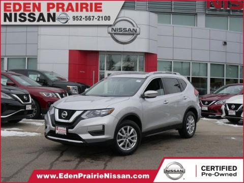 Certified Pre-Owned 2017 Nissan Rogue SV All Wheel Drive SUV