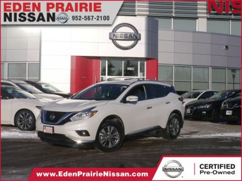 Certified Pre-Owned 2017 Nissan Murano SL With Navigation