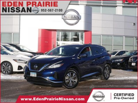 Certified Pre-Owned 2019 Nissan Murano S All Wheel Drive SUV