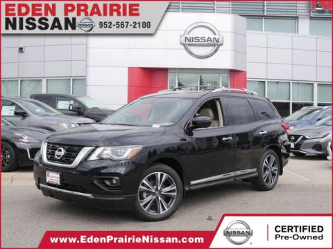 Certified Pre-Owned 2019 Nissan Pathfinder Platinum With Navigation