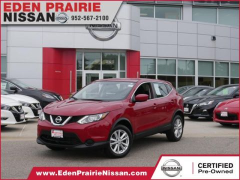 Certified Pre-Owned 2017 Nissan Rogue Sport S AWD